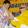 "Honoured with ""Kalaimamani"" Award in the year 1998"