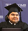 nepoleon son graduated defeating the muscular dystrophy