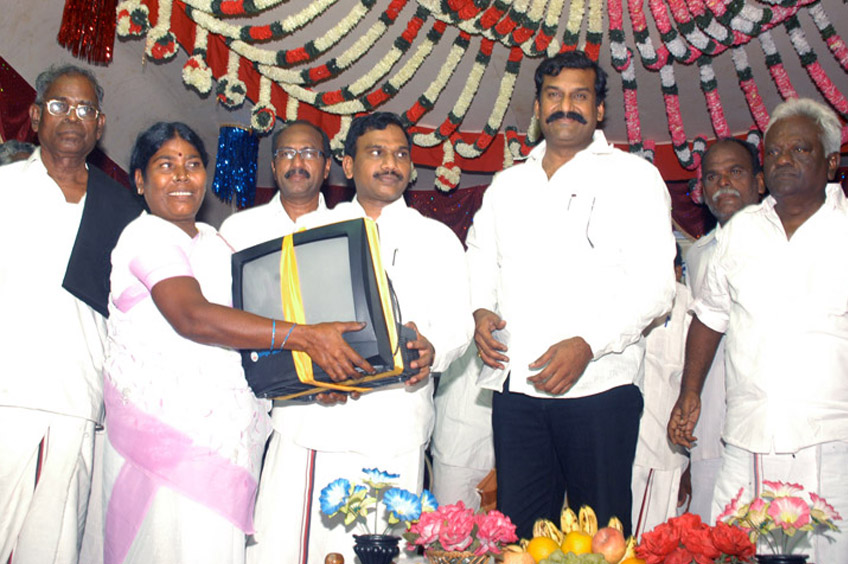Central Ministers distribute Free Color TV to 1333 benefactors