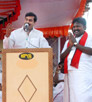 Nepoleon Gathered the meed for DMK for vote Campaign