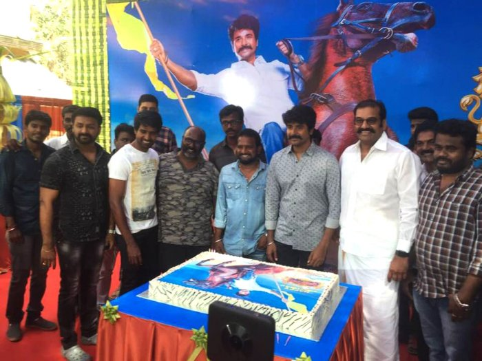 Sivakarthikayan Birthday celebration at Seemaraja Shooting Spot
